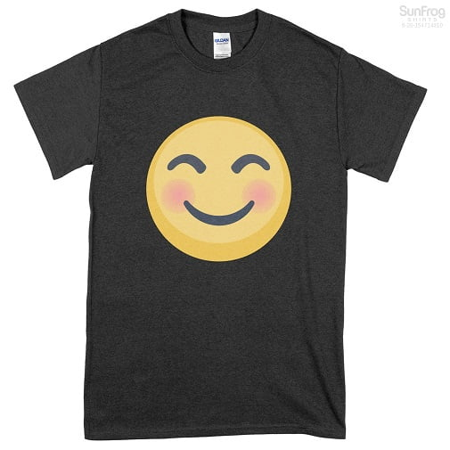 Facebook Blissful Emoji Shirts