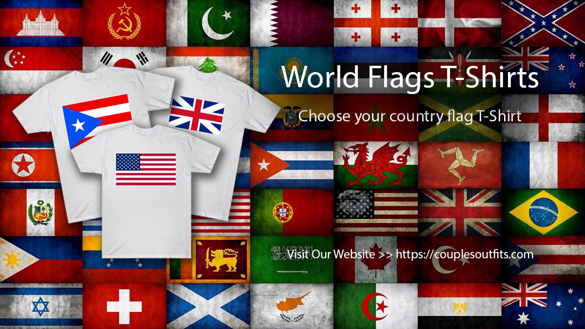 World Flags T-Shirts